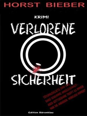cover image of Verlorene Sicherheit