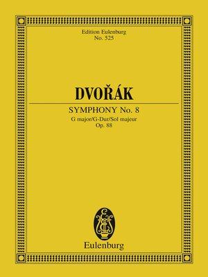 cover image of Symphony No. 8 G major