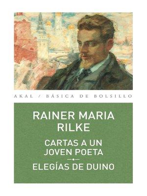 cover image of Cartas a un joven poeta--Elegías del Dunio