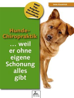 cover image of Hunde-Chiropraktik