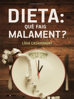 cover image of Dieta