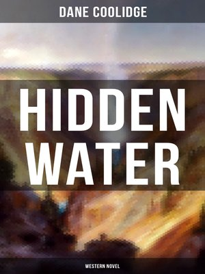 cover image of Hidden Water (Western Novel)