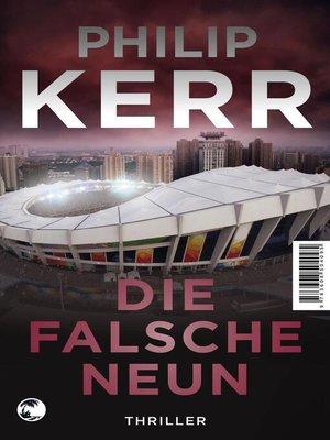 cover image of Die falsche Neun