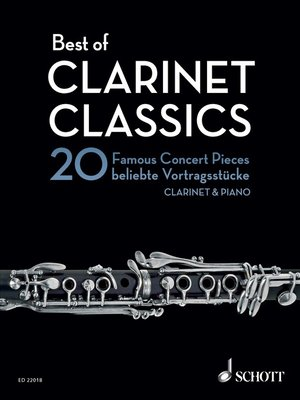 cover image of Best of Clarinet Classics