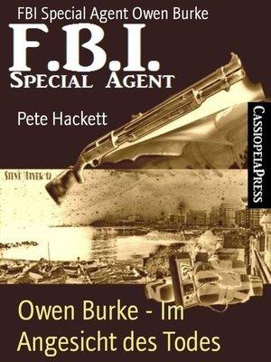 cover image of Owen Burke--Im Angesicht des Todes