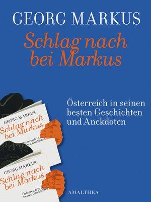 cover image of Schlag nach bei Markus