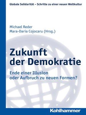 cover image of Zukunft der Demokratie