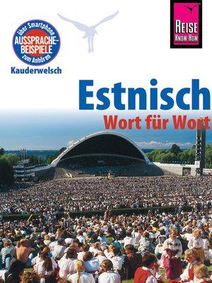 cover image of Estnisch--Wort für Wort