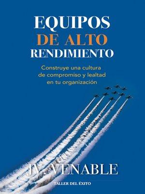 cover image of Equipos de alto rendimiento