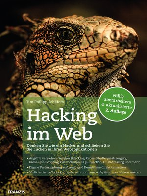 cover image of Hacking im Web 2.0