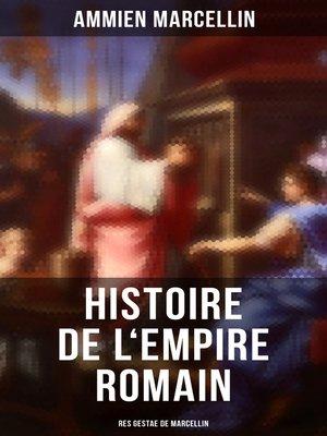 cover image of Histoire de l'Empire romain