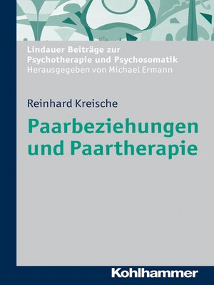 cover image of Paarbeziehungen und Paartherapie