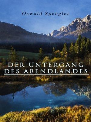 cover image of Der Untergang des Abendlandes