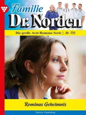 cover image of Familie Dr. Norden 733 – Arztroman