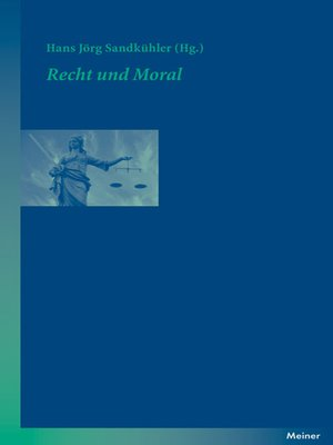 cover image of Recht und Moral