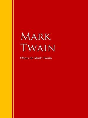 cover image of Obras de Mark Twain