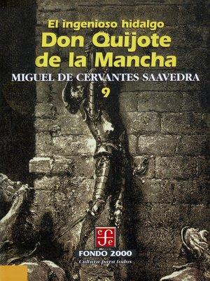cover image of El ingenioso hidalgo don Quijote de la Mancha, 9