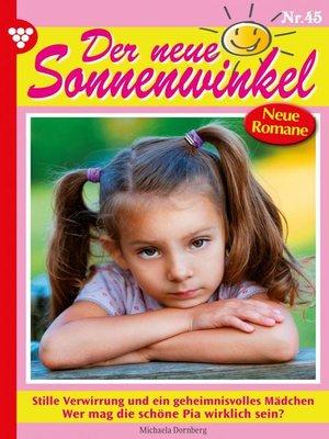 cover image of Der neue Sonnenwinkel 45 – Familienroman