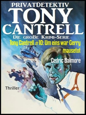cover image of Tony Cantrell #10