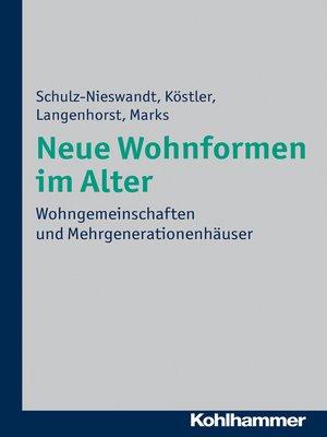 cover image of Neue Wohnformen im Alter