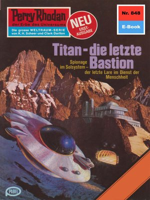 cover image of Perry Rhodan 848