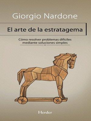 cover image of El arte de la estratagema