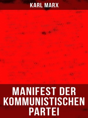 cover image of Karl Marx
