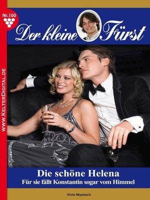 cover image of Der kleine Fürst 100 – Adelsroman