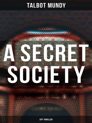 cover image of A Secret Society (Spy Thriller)