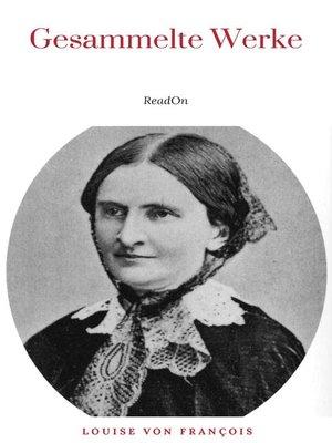 cover image of Louise von François