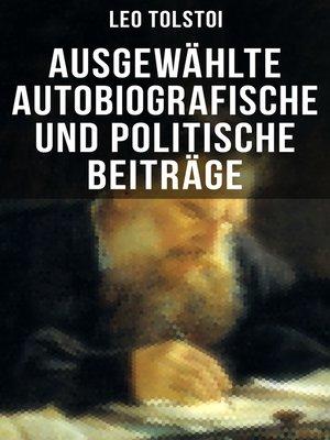 cover image of Ausgewählte autobiografische und politische Beiträge
