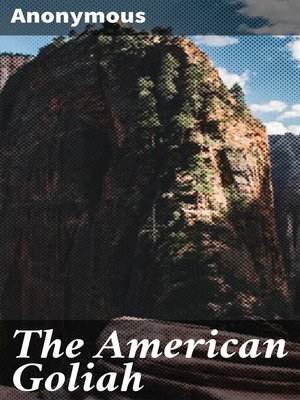 cover image of The American Goliah