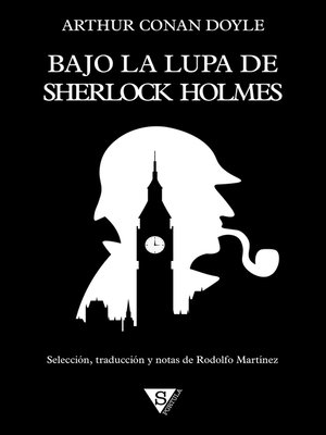 cover image of Bajo la lupa de Sherlock Holmes