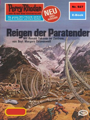 cover image of Perry Rhodan 927