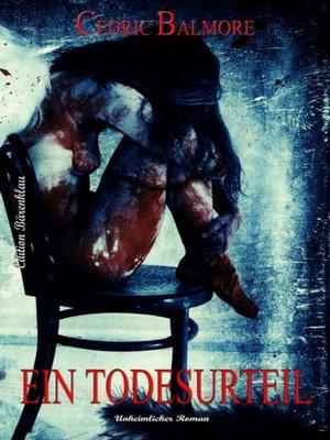 cover image of Ein Todesurteil