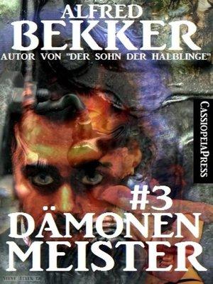 cover image of Dämonenmeister #3