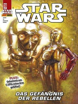 cover image of Star Wars, Comicmagazin 18--Das Gefängnis der Rebellen