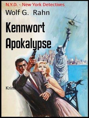 cover image of Kennwort Apokalypse