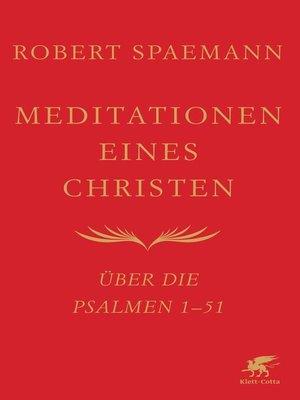 cover image of Meditationen eines Christen