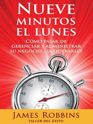 cover image of Nueve minutos el lunes