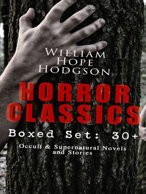 cover image of HORROR CLASSICS--Boxed Set