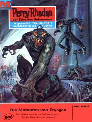 cover image of Perry Rhodan 485