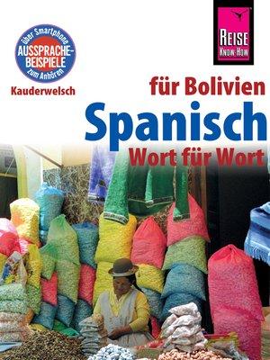 cover image of Spanisch für Bolivien--Wort für Wort