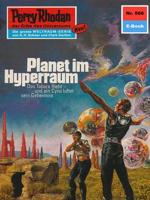 cover image of Perry Rhodan 566