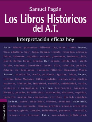 cover image of Libros históricos del Antiguo Testamento