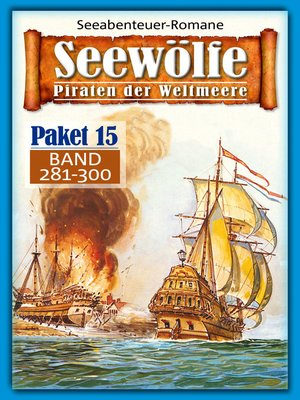 cover image of Seewölfe Paket 15