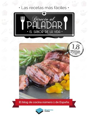 cover image of Directo al paladar