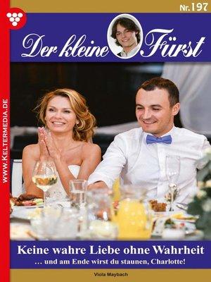 cover image of Der kleine Fürst 197 – Adelsroman
