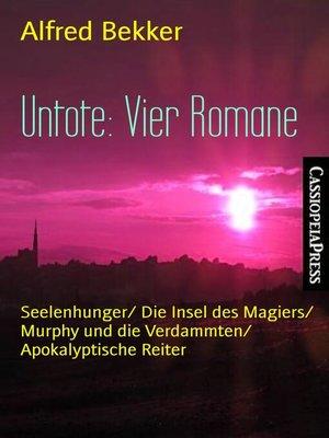 cover image of Untote
