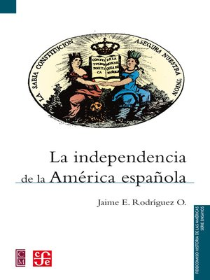 cover image of La independencia de la América española